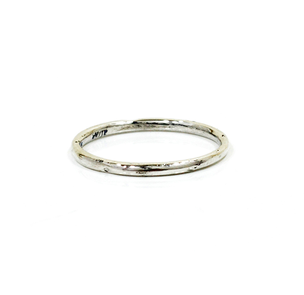 """UNKNOWN. U002 """" NORM """" S RING / SILVER"""