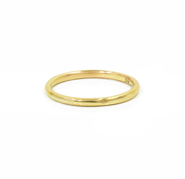 """UNKNOWN. U002 """" NORM """" S RING / K10GOLD"""