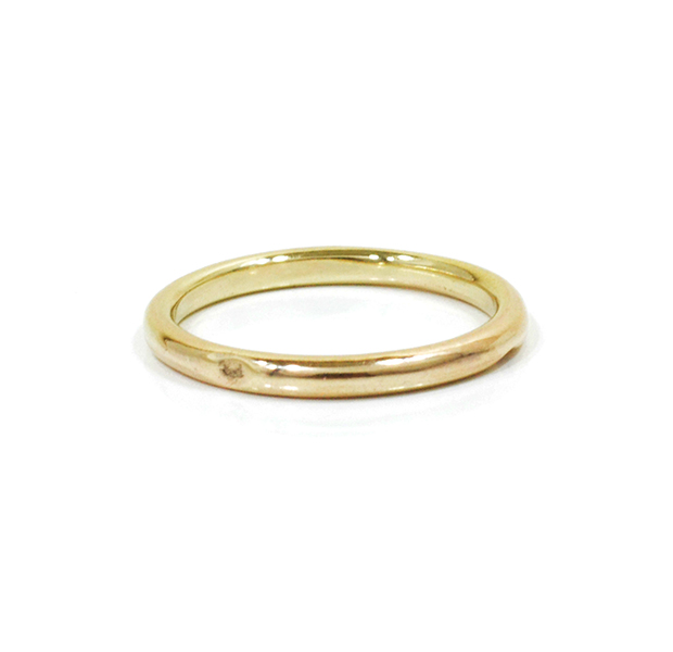 """UNKNOWN. U003 """" NORM """" M RING / K10GOLD"""