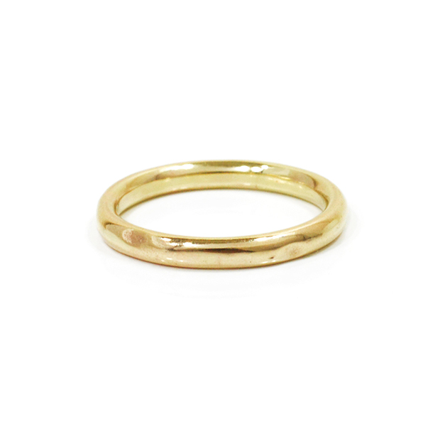 """UNKNOWN. U004 """" NORM """" L RING / K10GOLD"""