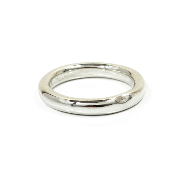 "UNKNOWN. U005 "" NORM "" LL RING / SILVER"