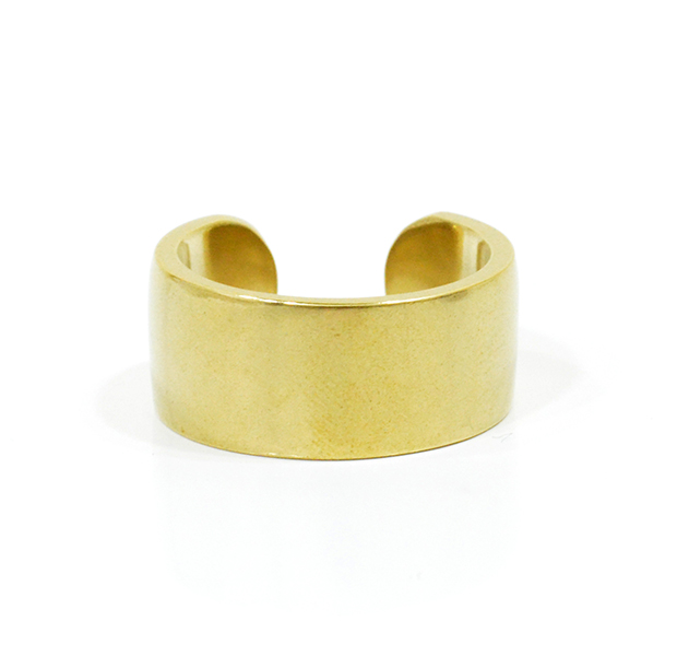 "UNKNOWN. U007 "" FLAT "" M RING / BRASS"