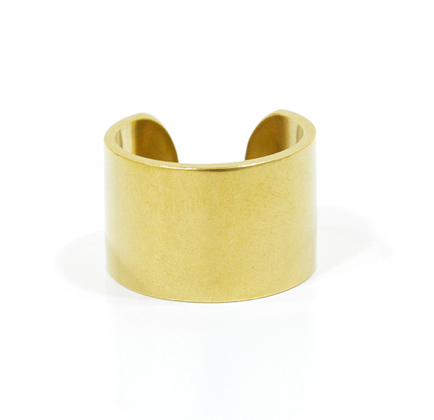 "UNKNOWN. U008 "" FLAT "" L RING / BRASS"