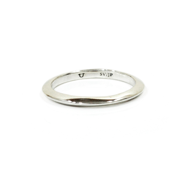 "UNKNOWN. U010 "" SLOPE "" S RING / SILVER"