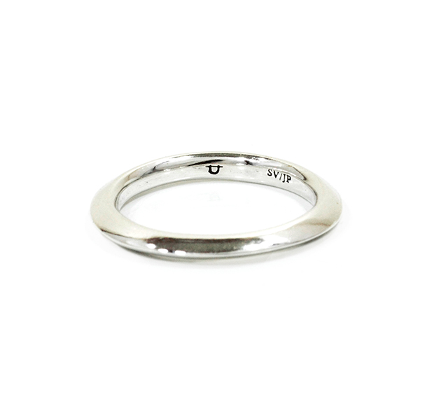 "UNKNOWN. U011 "" SLOPE "" M RING / SILVER"