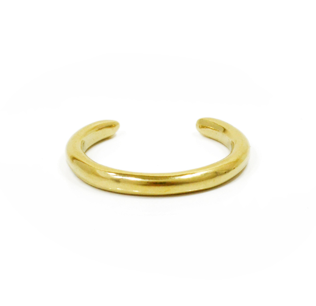 "UNKNOWN. U013 "" TAPERED "" RING / BRASS"