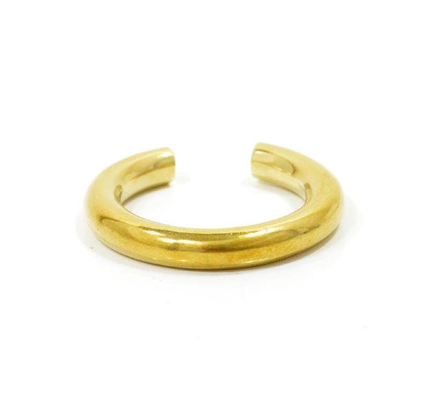 "UNKNOWN. U014 "" CHUNK "" RING / BRASS"