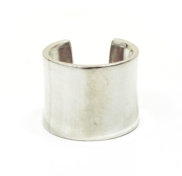 "UNKNOWN. U023 "" WARP "" RING / SILVER"
