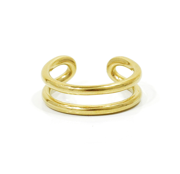 "UNKNOWN. U024 "" MORTISE "" S RING / BRASS"