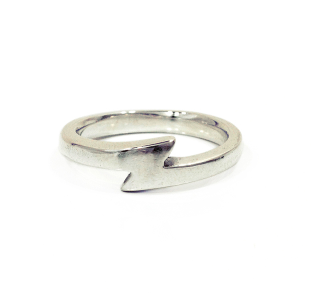 """UNKNOWN. x GOODDAYS UG001 """" SPARKY  """" RING / SILVER"""