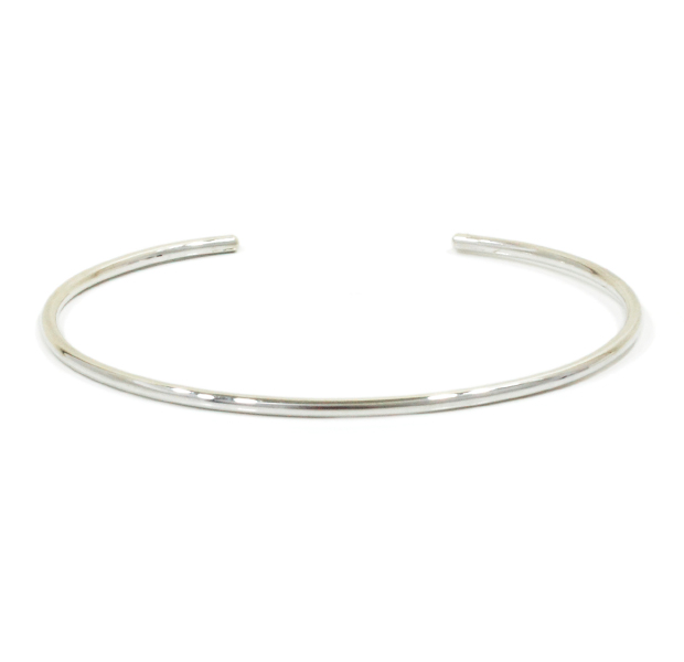 "UNKNOWN. U213 ""NORM "" 2mm BANGLE / SILVER"