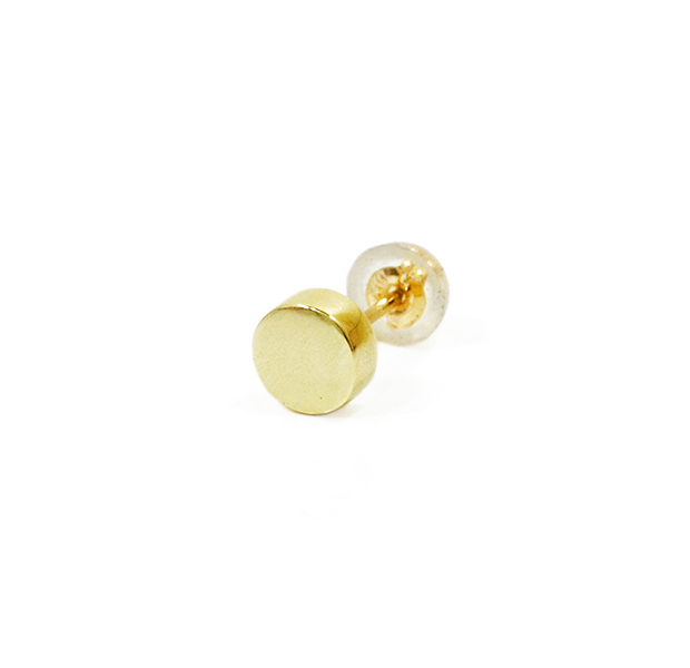 "UNKNOWN. U313 "" CIRCLE "" PIERCE / K10GOLD"