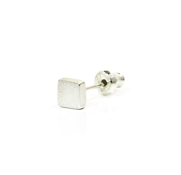 "UNKNOWN. U315 "" SQUARE "" PIERCE / SILVER"