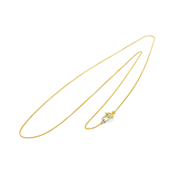 "UNKNOWN. U102 "" K18 GOLD/KIHEI ""NECKLACE / K18YG"