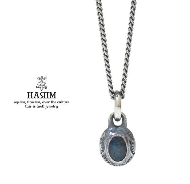 HARIM HRPEX08 OPAL NECKLACE / SILVER