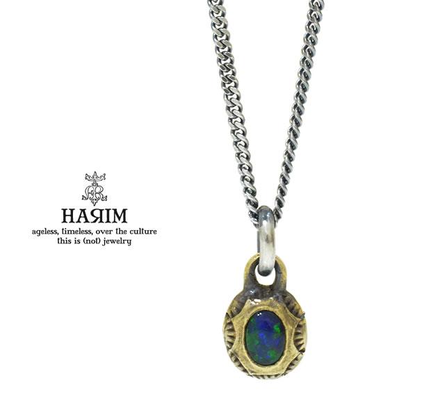 HARIM HRPEX07 OPAL NECKLACE / BRASS