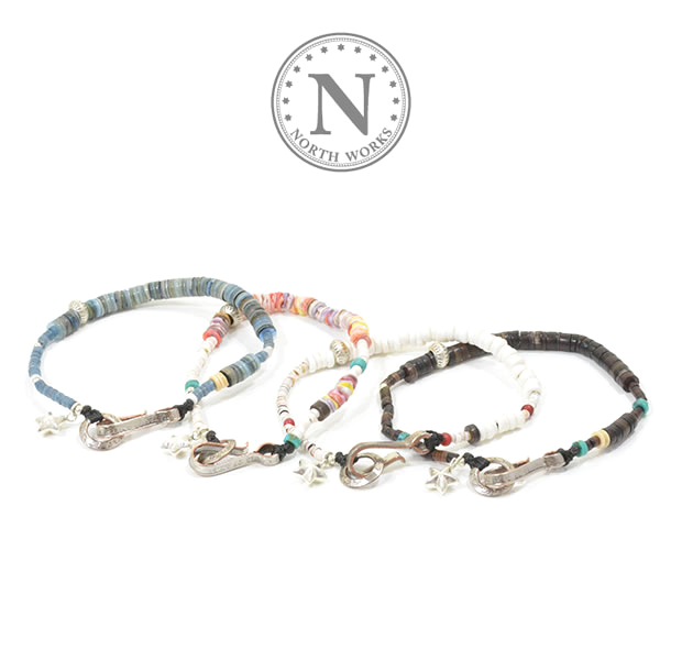 NORTH WORKS D-613 Shell Bracelet
