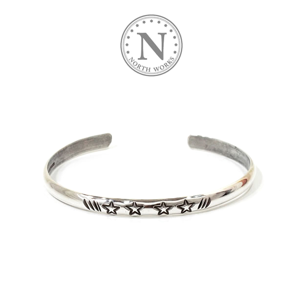 NORTH WORKS W-220 Star Round bangle
