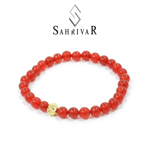 SAHRIVAR SB51B16S Jesus Ball Bracelet / GP