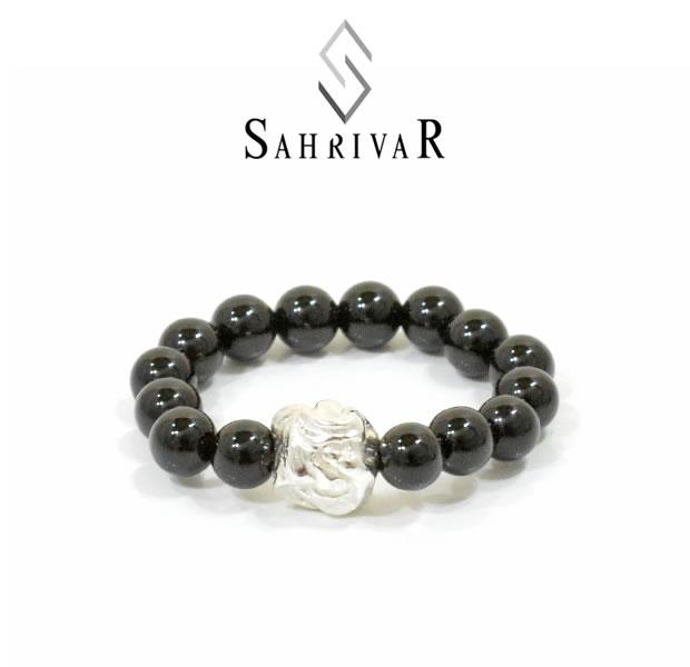 SAHRIVAR SR83S16S Jesus Ball Ring