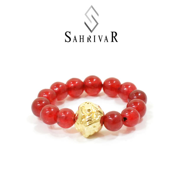 SAHRIVAR SR86B16S Jesus Ball Ring