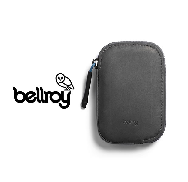 """Bellroy WAWA/CHARCOAL """"ALL CONDITIONS WALLET"""""""