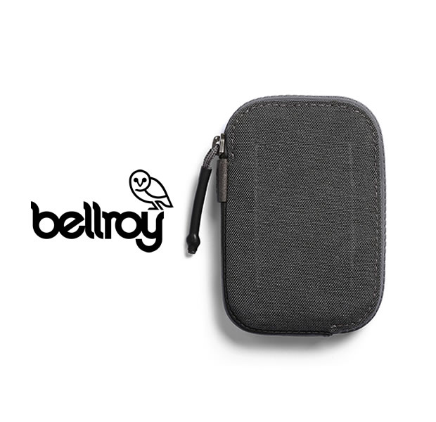 """Bellroy WAWA/CHARCOAL WOVEN """"ALL CONDITIONS WALLET"""""""