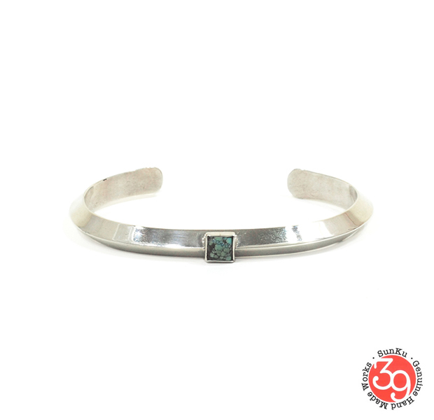 Sunku SK-194 Triangle Bangle (M)W/Turquoise