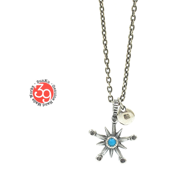 Sunku SK-181 Star Turquoise Necklace