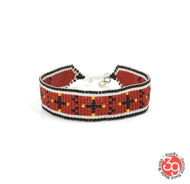 Sunku SK-174 CRR Beads Braid Bracelet