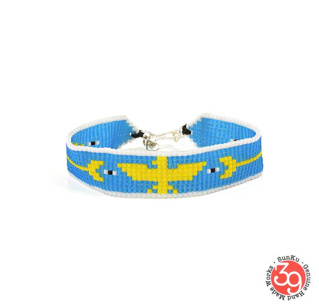 Sunku SK-174 E&A Beads Braid Bracelet