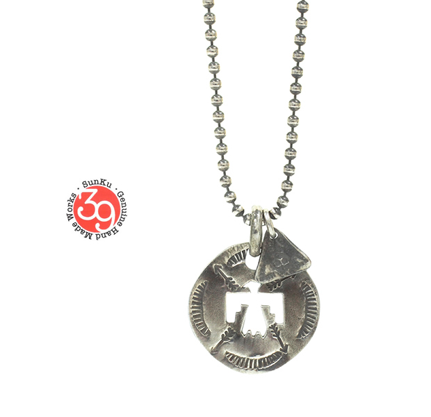 "Sunku SK-094 Cut Plate Necklace ""Horse"""
