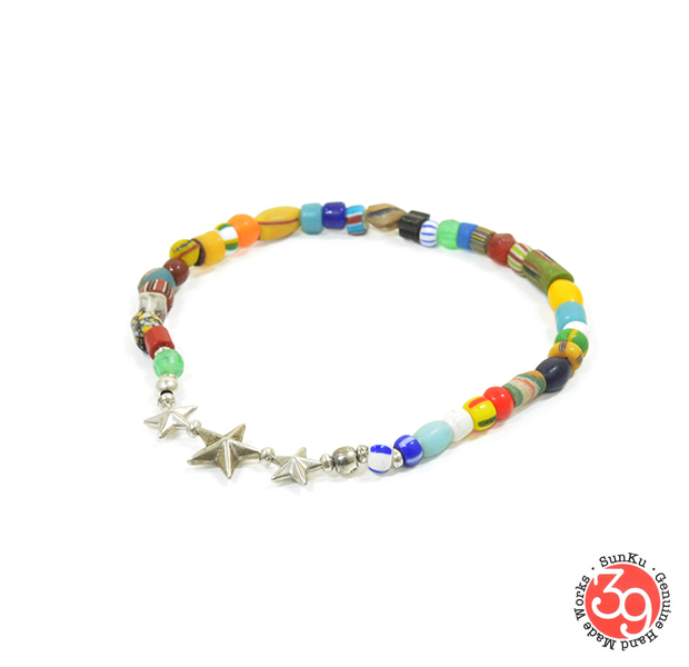 Sunku SK-144 MIX Star Beads Anklet