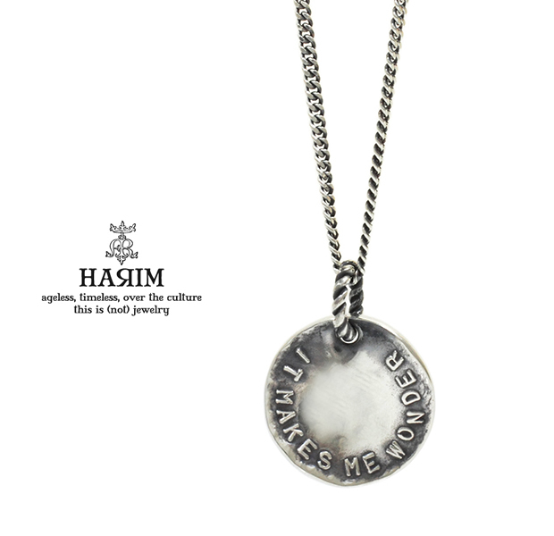 HARIM HRP114SV Stairway to Heaven Coin Pendant