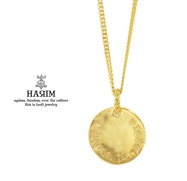 HARIM HRP114GP Stairway to Heaven Coin Pendant