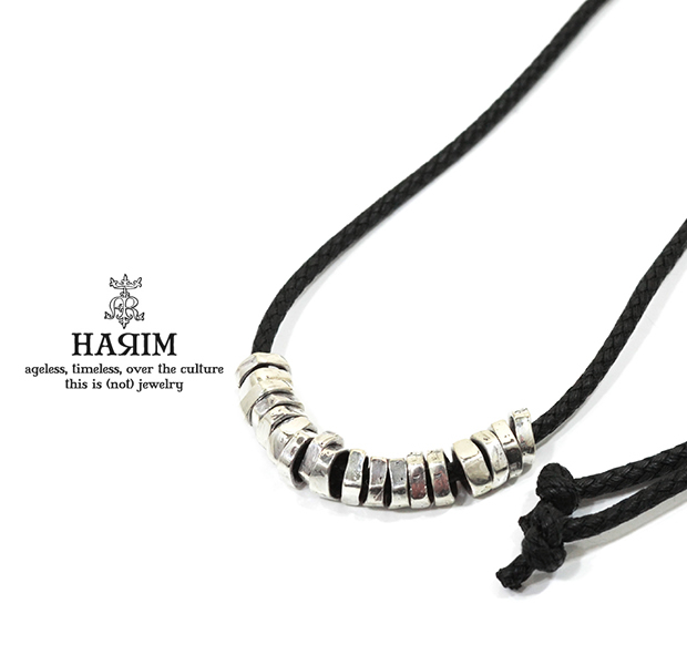 HARIM HRP117SVC Rock Beads Necklace W