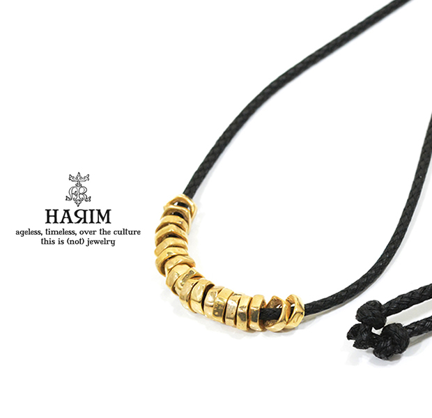 HARIM HRP117GPC Rock Beads Necklace W