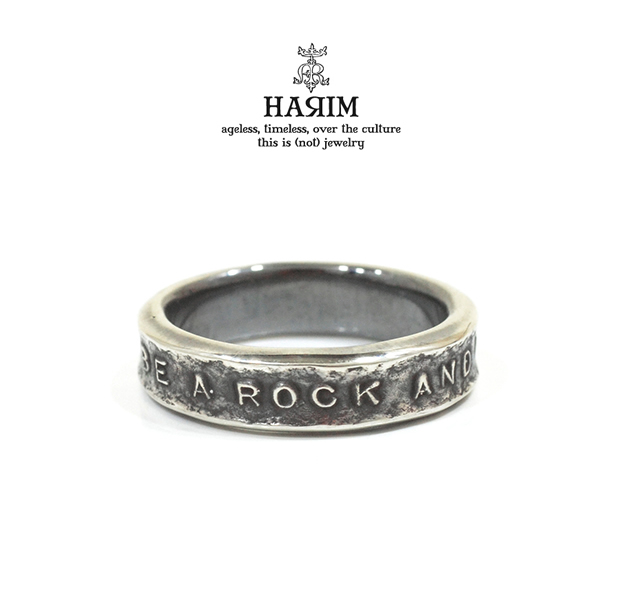 HARIM HRR038SV Stairway to Heaven Narrow Ring