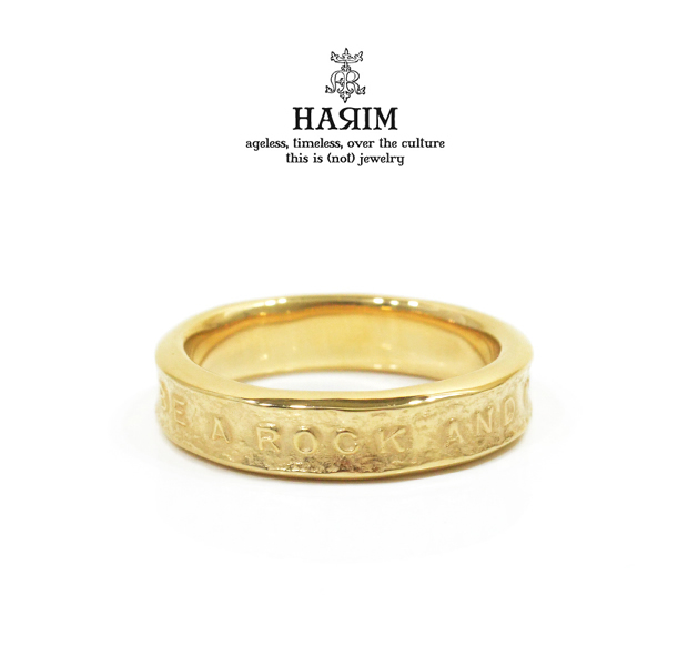 HARIM HRR038GP Stairway to Heaven Narrow Ring