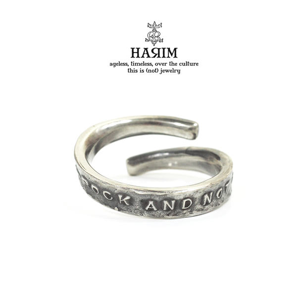 HARIM HRR039SV/S Stairway to Heaven Free Ring