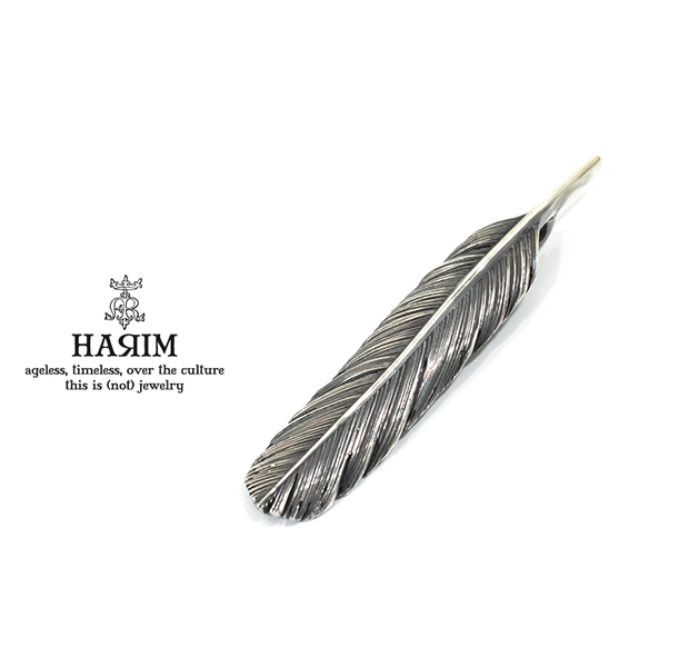 HARIM HRT004BK Feather Pendant /M 【CENTER】