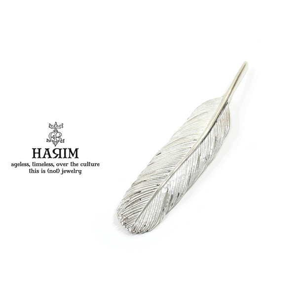 HARIM HRT006WH Feather Pendant /M 【RIGHT】