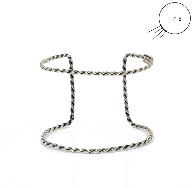 IF8 AB-03 TWIST BANGLE