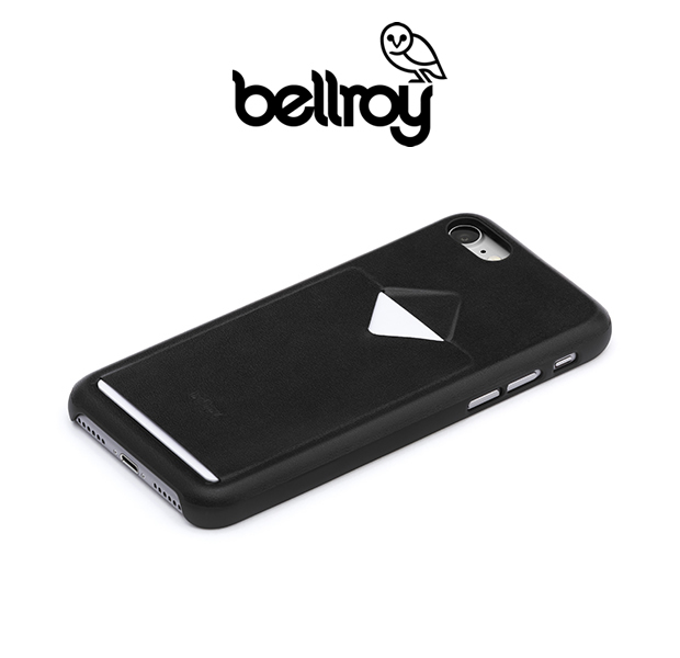 "Bellroy PCIG/BLK ""PHONE CASE-1CARD"" iPhone 7"