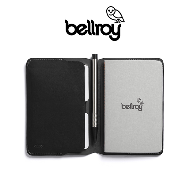 "Bellroy ENCA/BLK ""NOTEBOOK COVER"""
