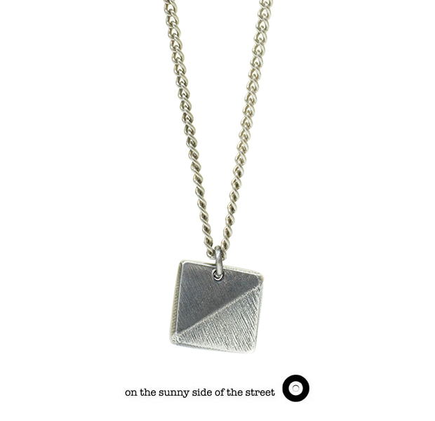 on the sunny side of the street 610-282 Silver African Studs Long Necklace【NEW ITEM】
