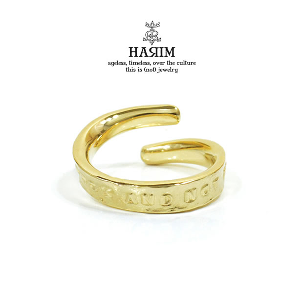 HARIM HRR039GP/S Stairway to Heaven Free Ring