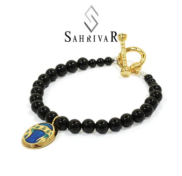 SAHRIVAR SB52S16S Pradatory Bracelet BLUE