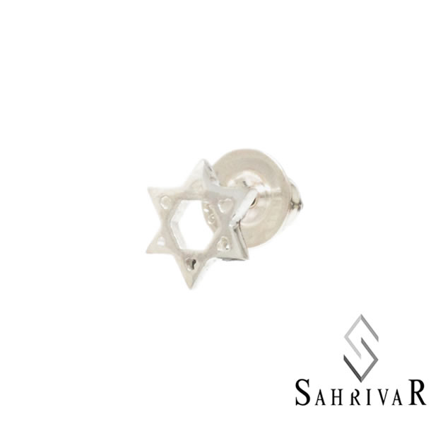 SAHRIVAR SP32S17S Hexagram Pierce