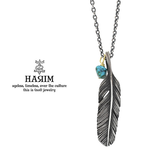 HARIM HRP123 OX Feather Necklace /S 【RIGHT】